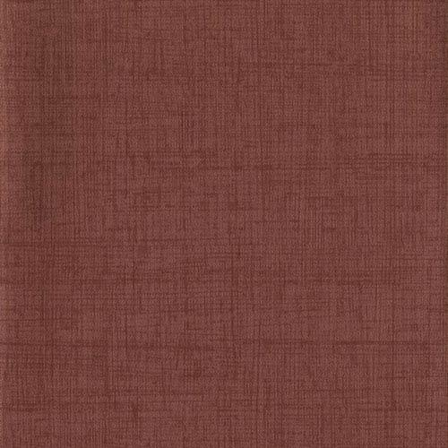 Industrial Interiors Homespun Maroon Wallpaper- Sample Swatch ONLY