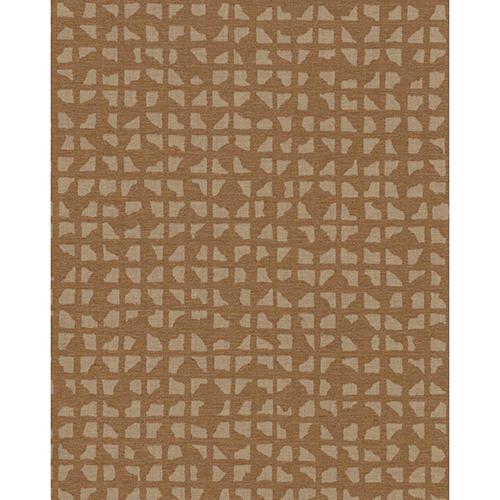 Ronald Redding Industrial Interiors II Bronze Metallic Wallpaper