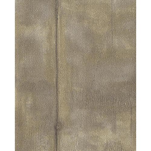 Ronald Redding Industrial Interiors II Metallic Beige and Brown Wallpaper