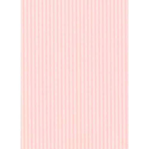 York Wallcoverings Inspired by Color Pink Awning Stripe Wallpaper