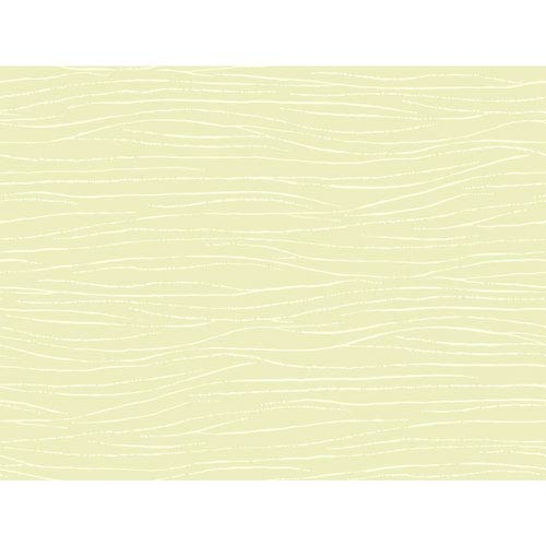 Ronald Redding Sculptured Surfaces Pale Green and White Lagoon Wallpaper