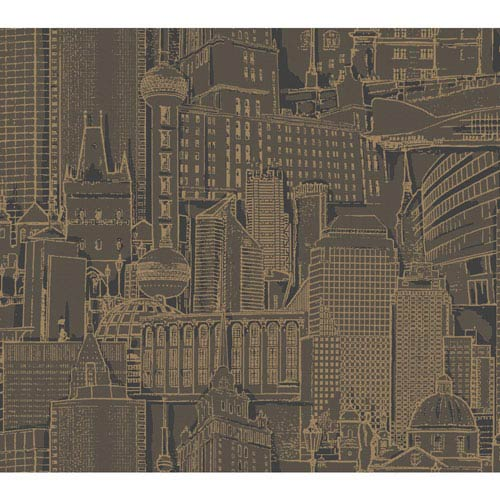 York Wallcoverings Risky Business 2 Great Expectations Removable Wallpaper- Sample Swatch Only