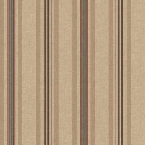 York Wallcoverings Inspired by Color Brown and Red Wallpaper: Sample Swatch Only