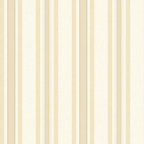 York Wallcoverings Inspired by Color White and Beige Wallpaper: Sample Swatch Only