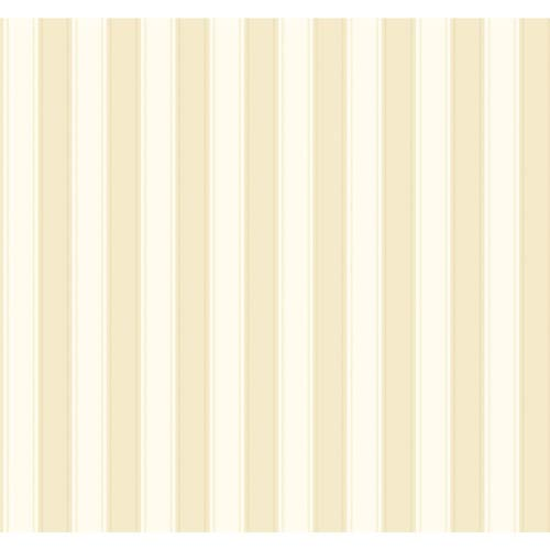 Inspired by Color Beige and White Silk Stripe Wallpaper