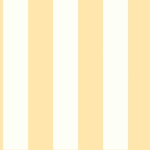 Inspired by Color Yellow and White 3-Inch Stripe Wallpaper
