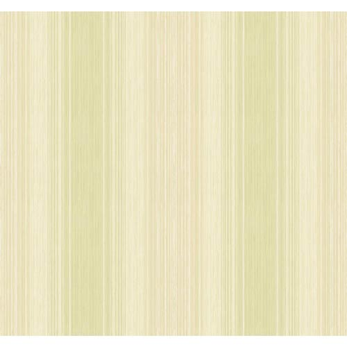 Inspired by Color Green and White Stria Wallpaper