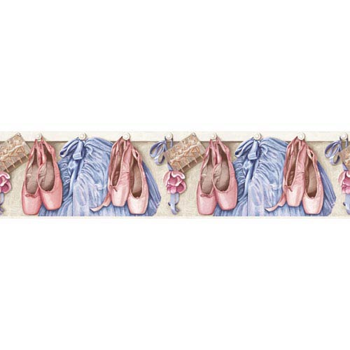 Brothers and Sisters V Toe Shoes And Tutus Border