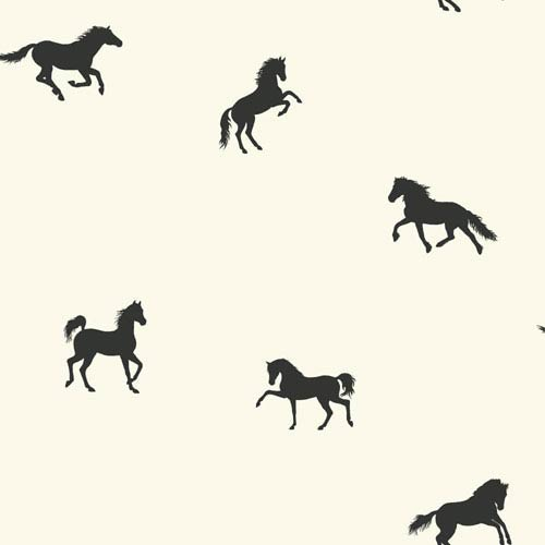 York Wallcoverings Brothers and Sisters V Hooray For Horses! Wallpaper