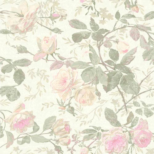 d49911f02a York Wallcoverings Vintage Luxe Vintage Floral Wallpaper Sh5500 ...