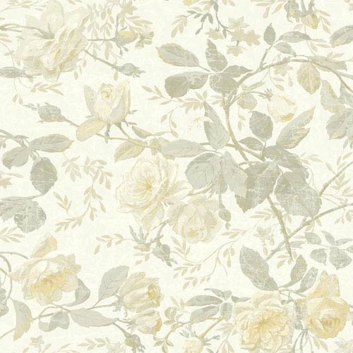 15e3b8cdec York Wallcoverings Vintage Luxe Vintage Floral Wallpaper Sh5504 ...