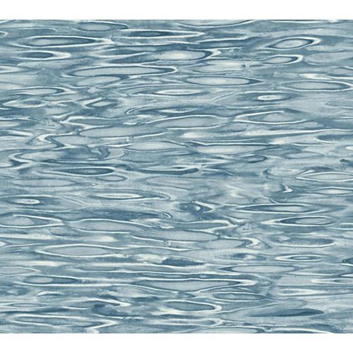 Candice Olson Tranquil Blue Still Water Wallpaper