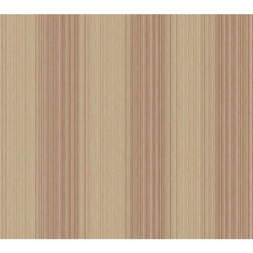 York Wallcoverings Inspired by Color Light Brown and Red Wallpaper: Sample Swatch Only