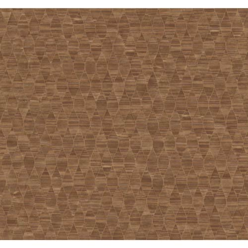 York Wallcoverings Inspired by Color Copper Wallpaper: Sample Swatch Only