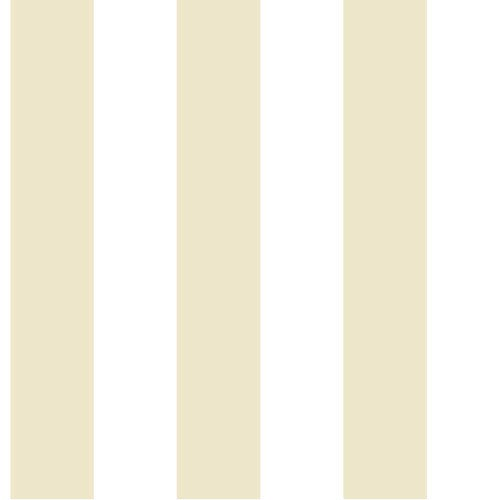 Ashford House Tropics Cream and Beige 3-Inch Stripe Wallpaper