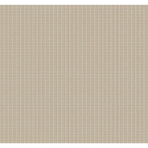 Stacy Garcia Paper Muse Beige and Metallic Gold Pop Dot Wallpaper