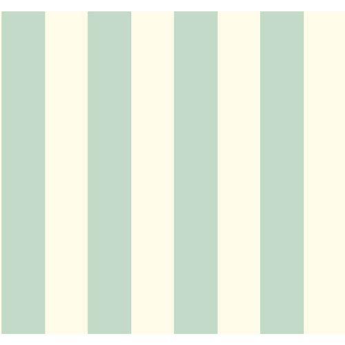 Waverly Stripes Aquamarine 3-Inch Wide Stripe Wallpaper