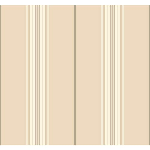 Waverly Stripes Down The Lane Wallpaper: Sample Swatch Only