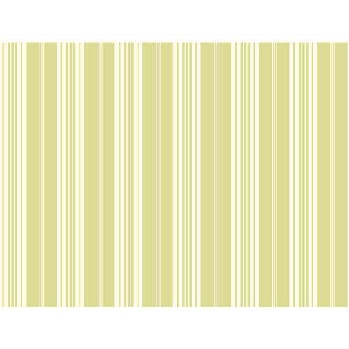 Waverly Stripes Green Bootcut Stripe Wallpaper