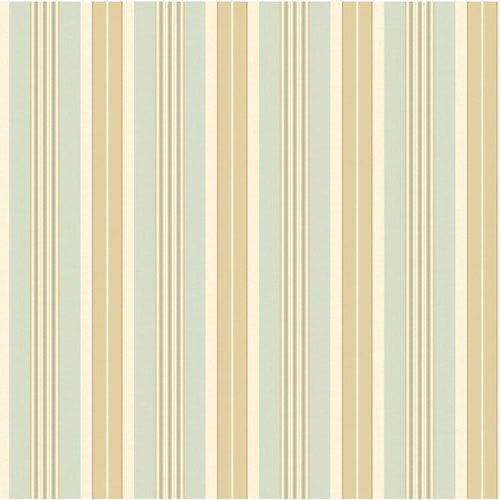York Wallcoverings Waverly Stripes Long Hill Wallpaper