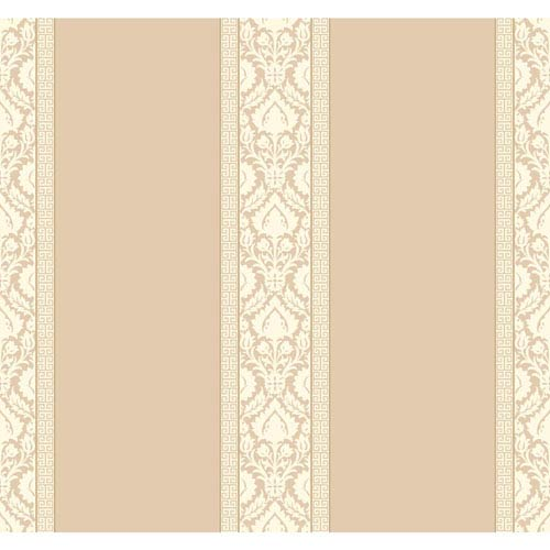 Waverly Stripes Santa Maria Stripe Wallpaper: Sample Swatch Only
