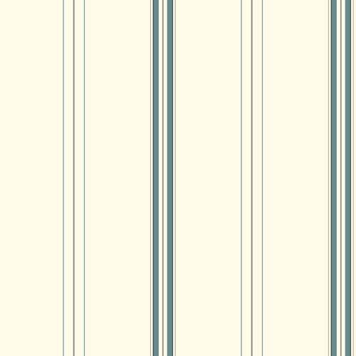 York Wallcoverings Waverly Stripes Harper Stripe Wallpaper