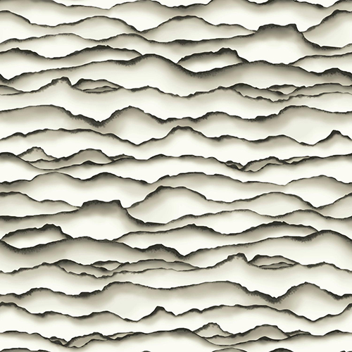 Ashford Whites Black Wallpaper