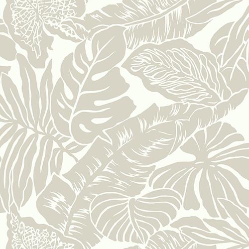Ashford Whites Silver Floral Wallpaper