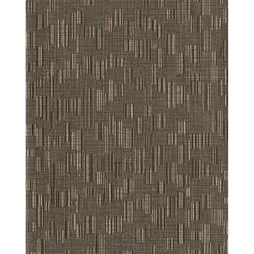 York Wallcoverings Design Digest Brown Mosaic Weave Wallpaper