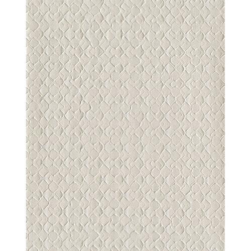 York Wallcoverings Design Digest Off White Impasto Diamond Wallpaper
