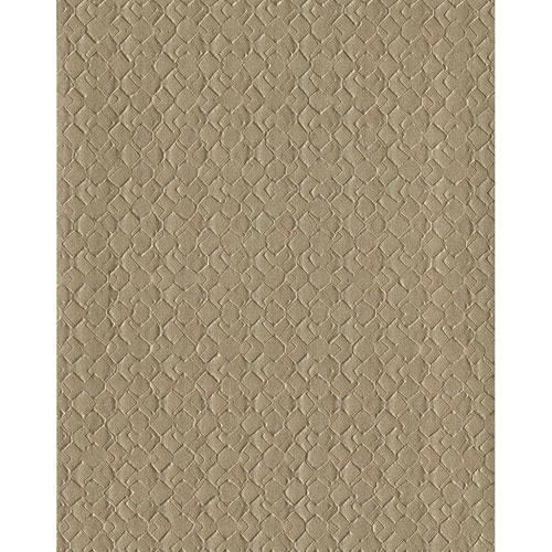 York Wallcoverings Design Digest Brown Impasto Diamond Wallpaper