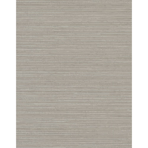 York Wallcoverings Design Digest Taupe Fine Line Wallpaper