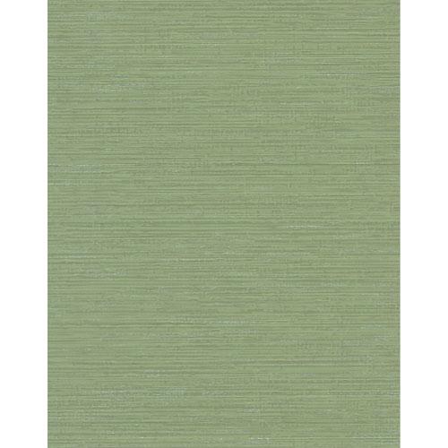 York Wallcoverings Design Digest Green Fine Line Wallpaper
