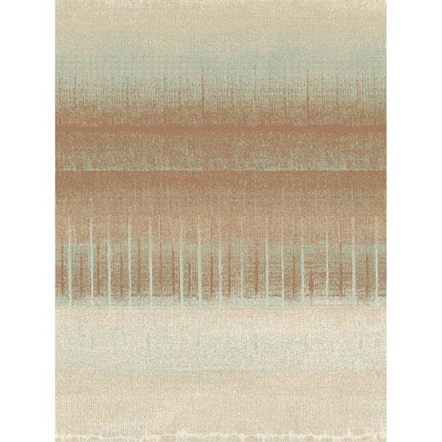 Ronald Redding Designs Stripes Resource Mesa Stripe Orange Wallpaper