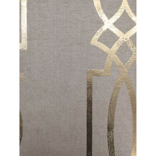 Ronald Redding Designs Stripes Resource Cathedral Trellis Beige Wallpaper