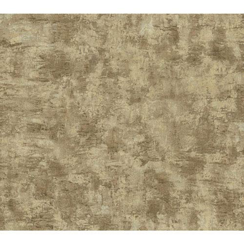 York Wallcoverings Texture Portfolio Beige and Brown Organic Texture Wallpaper
