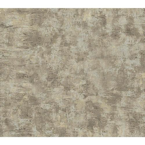York Wallcoverings Texture Portfolio Grey and Taupe Organic Texture Wallpaper