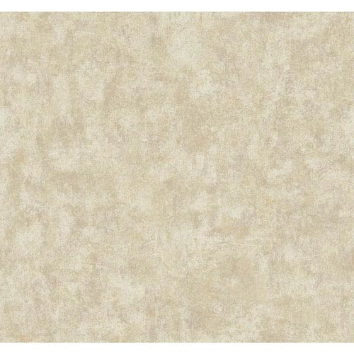 York Wallcoverings Texture Portfolio Bisque White and Beige Overall Texture Wallpaper