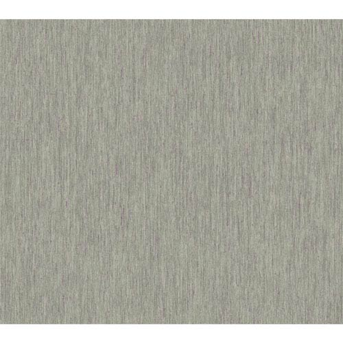York Wallcoverings Texture Portfolio Grey and Black Raspberry Raised Stria Texture Wallpaper: Sample Swatch Only