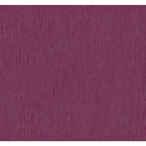 York Wallcoverings Texture Portfolio Ruby Red And Silver Stratus Wallpaper
