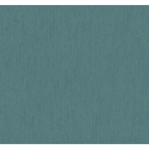 York Wallcoverings Texture Portfolio Turquoise and Silver Stratus Wallpaper