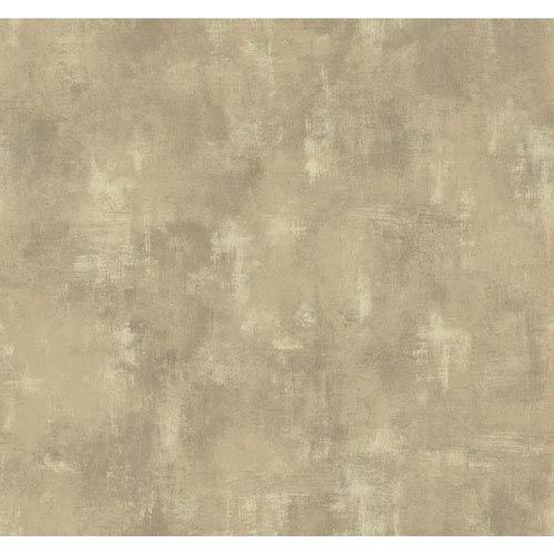 York Wallcoverings Texture Portfolio Taupe and Tan Shadows Wallpaper