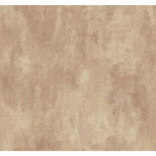York Wallcoverings Texture Portfolio Beige Blush and Rose Neo Classic Texture Wallpaper: Sample Swatch Only