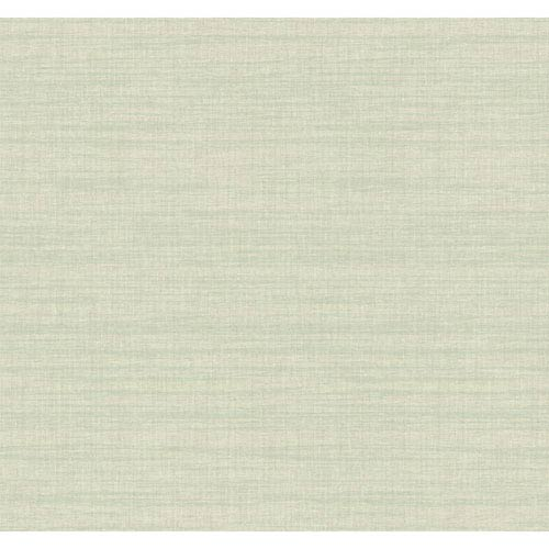 York Wallcoverings Texture Portfolio Gold and Sea Glass Royal Linen Wallpaper