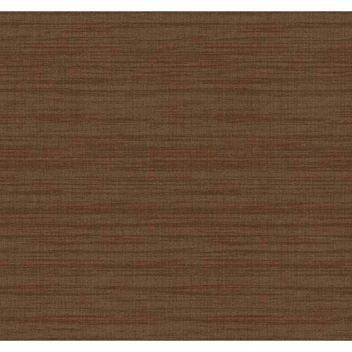 Texture Portfolio Bronze and Brown Royal Linen Wallpaper