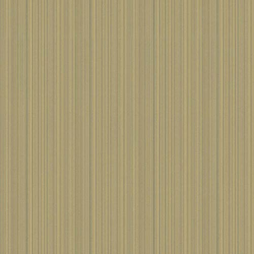 York Wallcoverings Texture Portfolio Silver and Taupe Stria Wallpaper: Sample Swatch Only