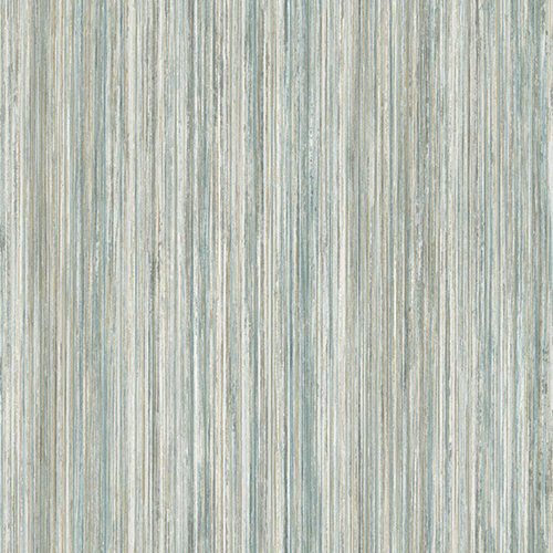 Modern Art Blue Painted Stripe Wallpaper
