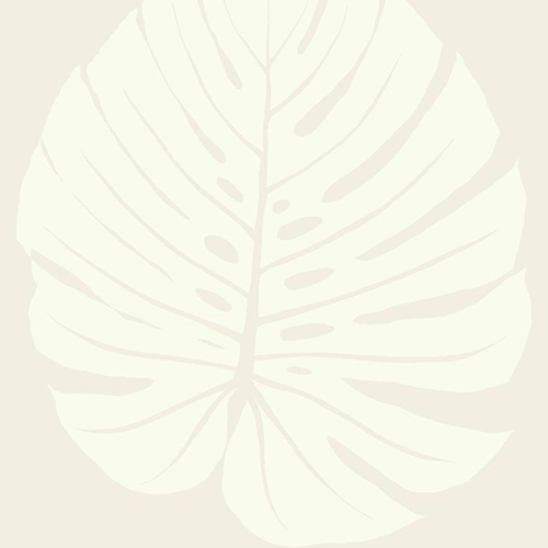 Aviva Stanoff Cream Bali Leaf Wallpaper