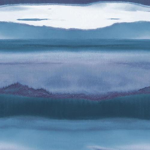Aviva Stanoff Dark Blue Horizon Wallpaper - SAMPLE SWATCH ONLY