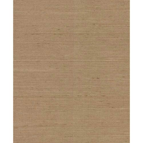 Magnolia Home Plain Grass Brown Wallpaper- SAMPLE SWATCH ONLY